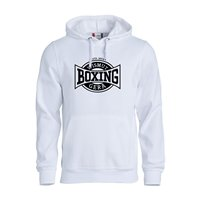 "BC Wismut Gera Hoody ""BOXING CLUB"" Unisex weiss"