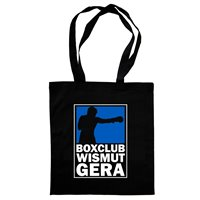"BC Wismut Gera Stoffbeutel ""BOX LIGA"" schwarz"