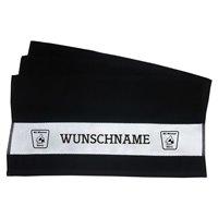 BC Wismut Gera Duschtuch NAME schwarz
